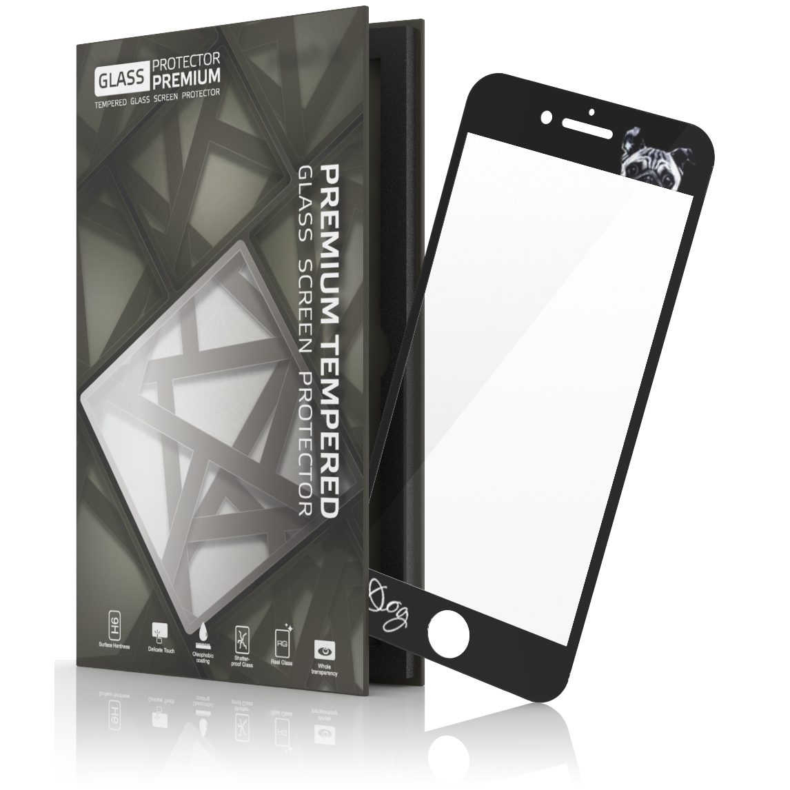 Tempered Glass Protector Screen Protection For Smartphone Tablet Full Cover Xiaomi Mi5s White The